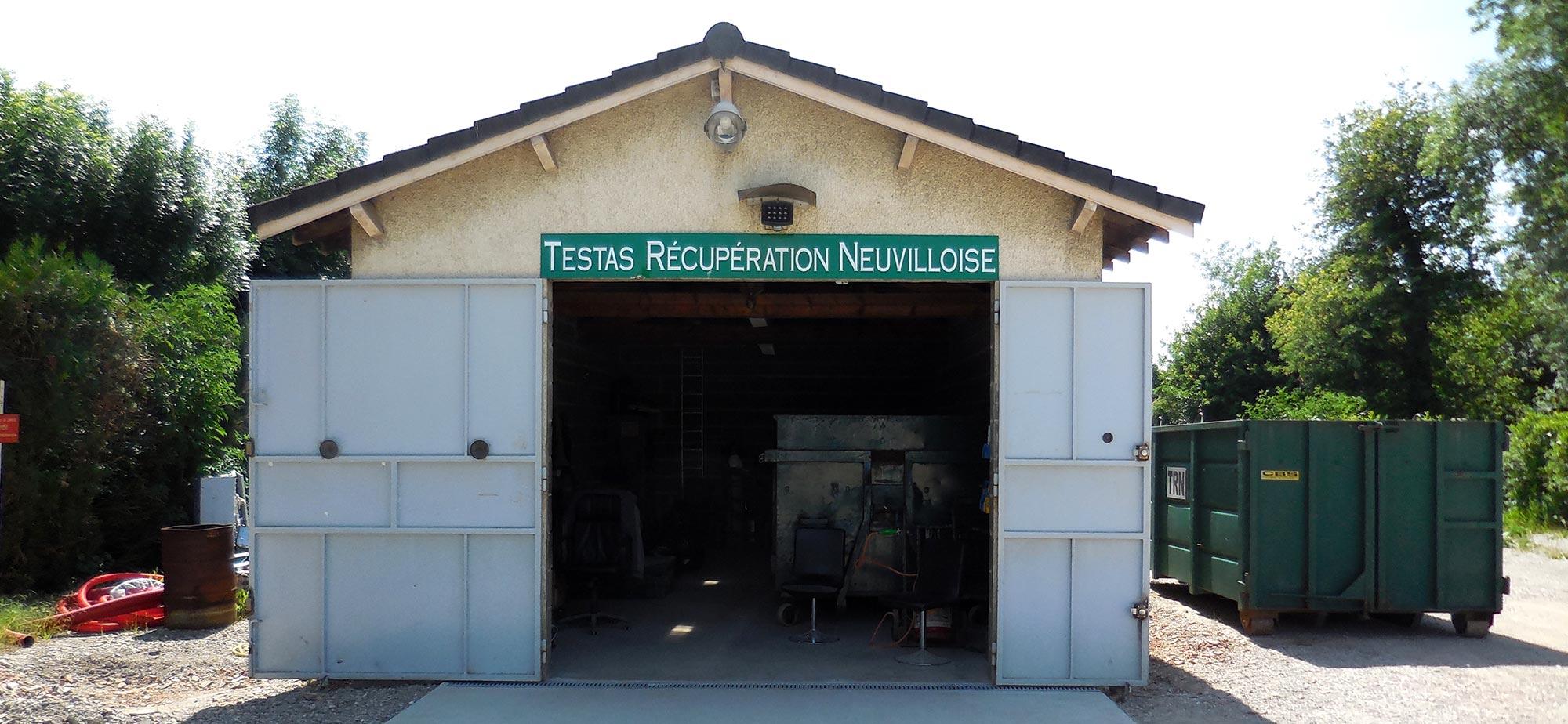 Testas récupération Neuvilloise